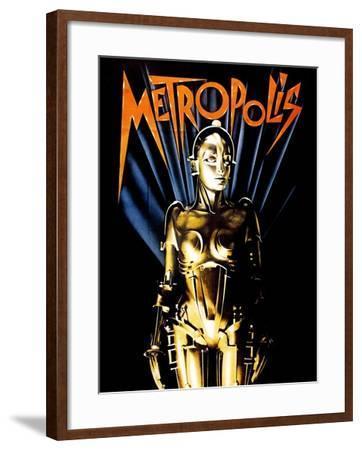 Metropolis, 1927--Framed Giclee Print