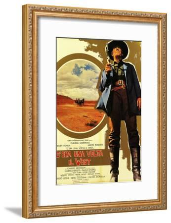 Once Upon a Time in the West, 1968 (C'Era Una Volta Il West)--Framed Giclee Print