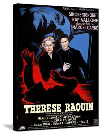 Therese Raquin, 1953--Stretched Canvas Print