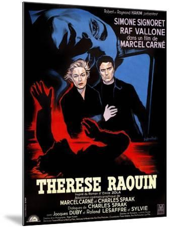 Therese Raquin, 1953--Mounted Giclee Print