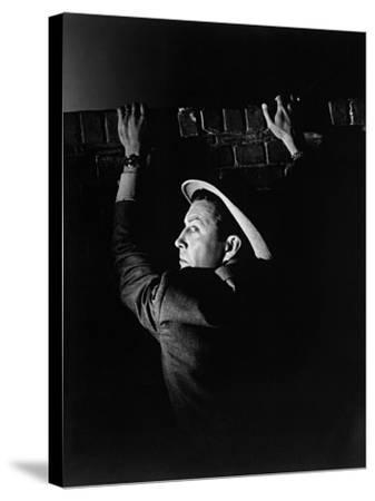 High Wall, 1947--Stretched Canvas Print