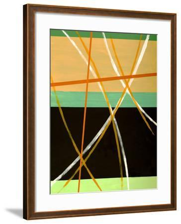 An Abstract Painting-clivewa-Framed Art Print