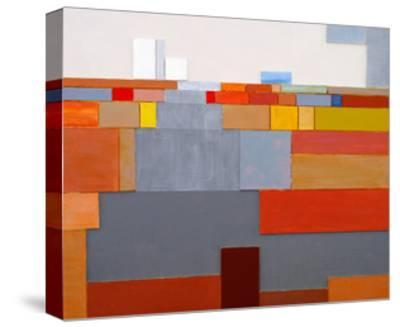 A Painted Collage-clivewa-Stretched Canvas Print