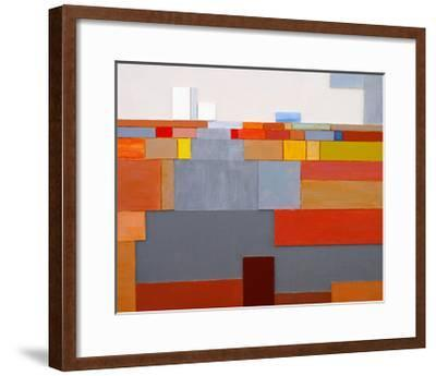 A Painted Collage-clivewa-Framed Art Print