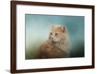 Over Her Shoulder-Jai Johnson-Framed Giclee Print