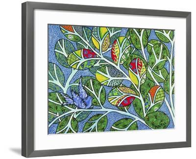 Indigo-Debra Denise Purcell-Framed Giclee Print