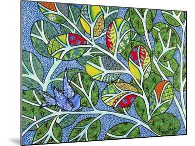 Indigo-Debra Denise Purcell-Mounted Giclee Print