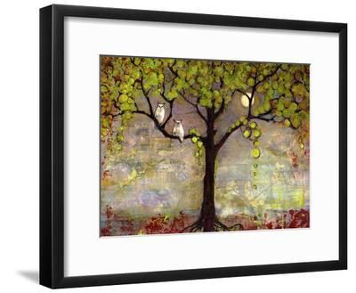 Moon River Tree-Blenda Tyvoll-Framed Giclee Print