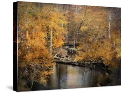 Golden Blessings-Jai Johnson-Stretched Canvas Print