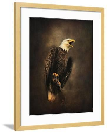 Crying for the Lost Bald Eagle-Jai Johnson-Framed Giclee Print