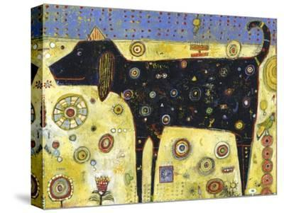 Black Gus-Jill Mayberg-Stretched Canvas Print