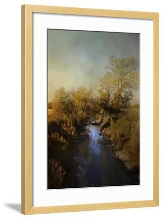 Blue Creek in Autumn-Jai Johnson-Framed Giclee Print