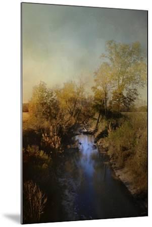 Blue Creek in Autumn-Jai Johnson-Mounted Giclee Print