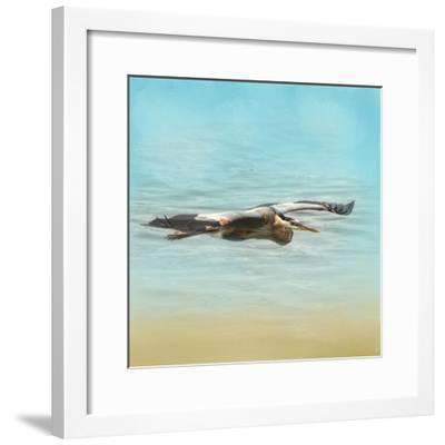 Arrival of the Blue Heron-Jai Johnson-Framed Giclee Print