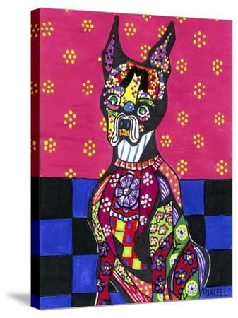 Vinnie Van Dogh-Debra Denise Purcell-Stretched Canvas Print