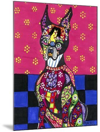 Vinnie Van Dogh-Debra Denise Purcell-Mounted Giclee Print