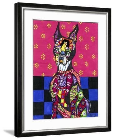 Vinnie Van Dogh-Debra Denise Purcell-Framed Giclee Print