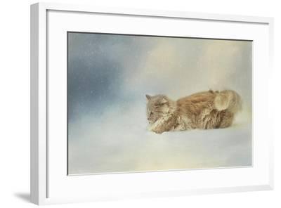 Snow Diving-Jai Johnson-Framed Giclee Print