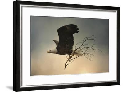 Stick Delivery-Jai Johnson-Framed Giclee Print