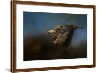 Storm Chaser Bald Eagle-Jai Johnson-Framed Giclee Print