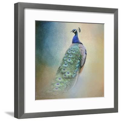 Peacock 4-Jai Johnson-Framed Giclee Print