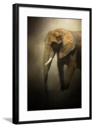 The Elephant Emerges-Jai Johnson-Framed Giclee Print