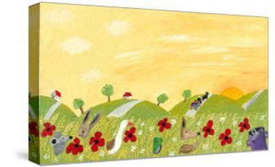 Countryside Landscape in the Summer-andreapetrlik-Stretched Canvas Print
