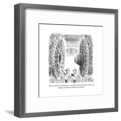 Cartoon-Christopher Weyant-Framed Premium Giclee Print