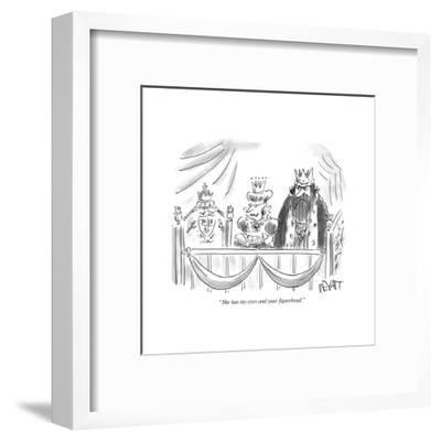 """She has my eyes and your figurehead."" - Cartoon-Christopher Weyant-Framed Premium Giclee Print"