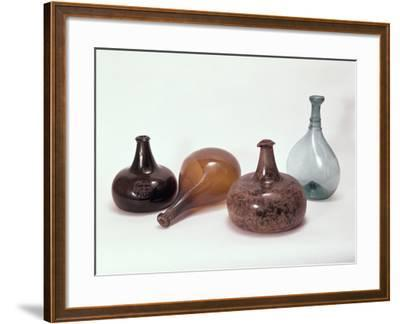 Collection of Wine Bottles--Framed Photographic Print