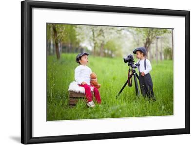 The Photographer-Tatyana Tomsickova-Framed Photographic Print
