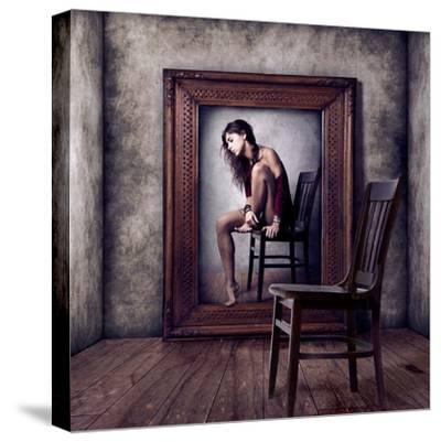 Reflejo-Claudia Mendez-Stretched Canvas Print