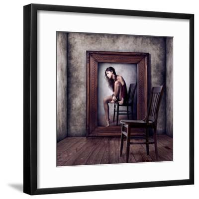 Reflejo-Claudia Mendez-Framed Photographic Print