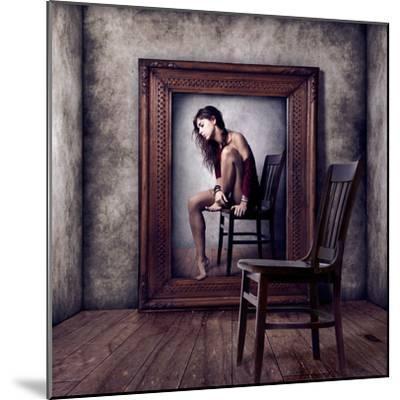 Reflejo-Claudia Mendez-Mounted Photographic Print