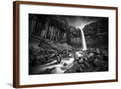 The Great Svartifoss-Janne Kahila-Framed Photographic Print