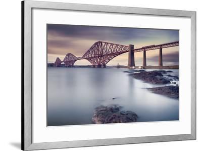 Forth Rail Bridge-Martin Vlasko-Framed Photographic Print