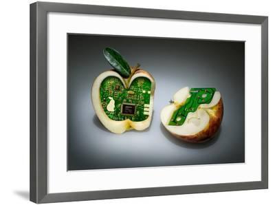 Apple Core- Kikroune-Framed Photographic Print