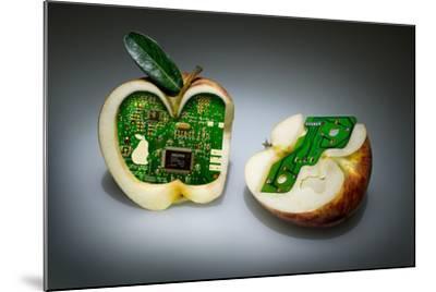 Apple Core- Kikroune-Mounted Photographic Print
