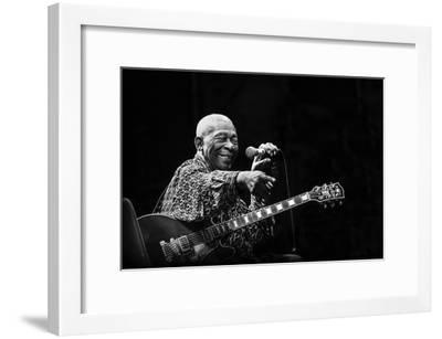 BB King-Alice Lorenzini-Framed Photographic Print