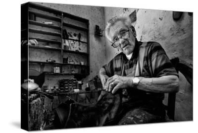 Shoe Repair No. 1-Antonio Grambone-Stretched Canvas Print