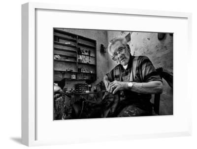 Shoe Repair No. 1-Antonio Grambone-Framed Photographic Print