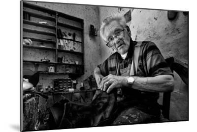 Shoe Repair No. 1-Antonio Grambone-Mounted Photographic Print