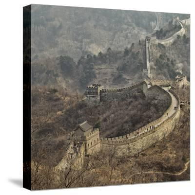 Early Spring in Mutianyu- C.S.Tjandra-Stretched Canvas Print