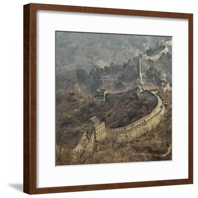 Early Spring in Mutianyu- C.S.Tjandra-Framed Photographic Print