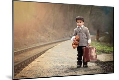 The Little Traveler-Tatyana Tomsickova-Mounted Photographic Print