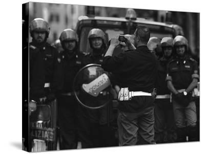Street Photographer-Fulvio Pellegrini-Stretched Canvas Print