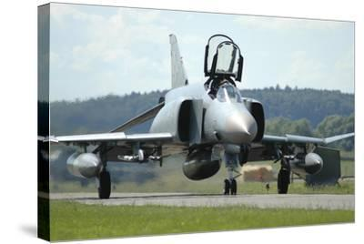 F-4F Phantom of the German Air Force-Stocktrek Images-Stretched Canvas Print