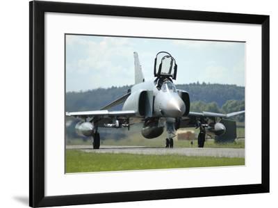 F-4F Phantom of the German Air Force-Stocktrek Images-Framed Photographic Print