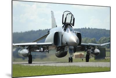 F-4F Phantom of the German Air Force-Stocktrek Images-Mounted Photographic Print