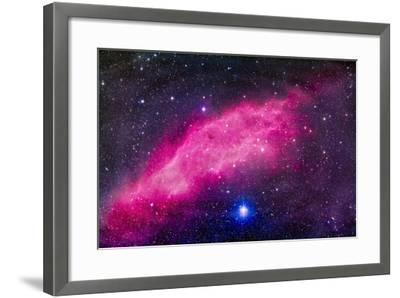 The California Nebula-Stocktrek Images-Framed Photographic Print